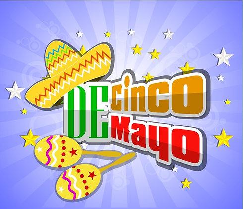 CINCO DE MAYO CANDLE II