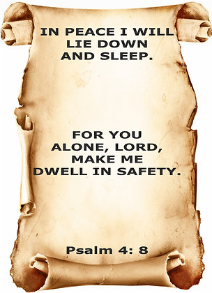 PSALM 4 CANDLE