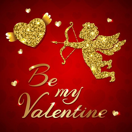 BE MY VALENTINE CANDLE