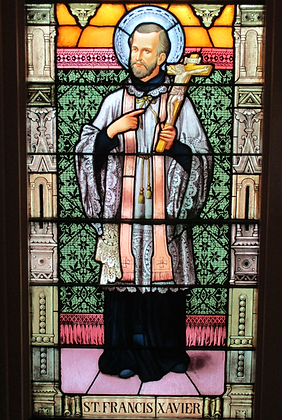 ST. FRANCIS XAVIER CANDLE