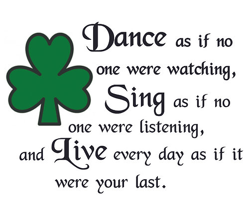 IRISH DANCE CANDLE