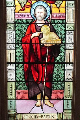 ST. JOHN THE BAPTIST CANDLE