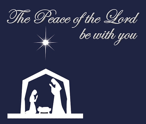 PEACE OF THE LORD CHRISTMAS CANDLE I
