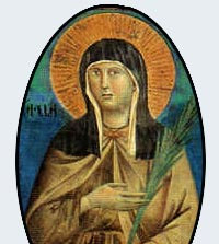 ST. CLARE CANDLE I