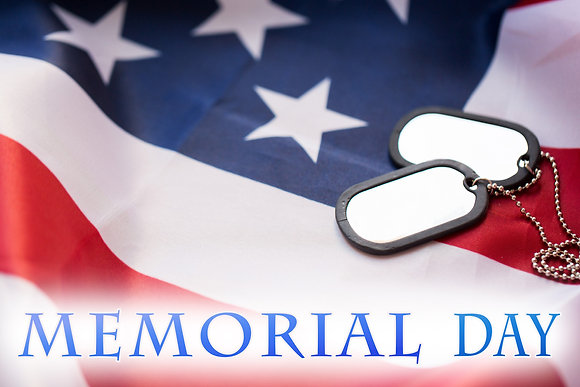 MEMORIAL DAY CANDLE I