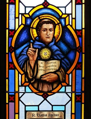 ST. THOMAS AQUINAS CANDLE