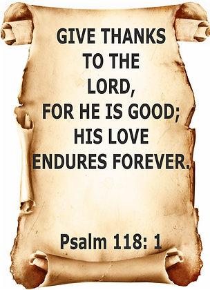 PSALM 118 CANDLE II