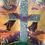 Thumbnail: PURPLE SASH ON CROSS CANDLE