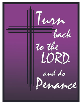 TURN BACK TO THE LORD CANDLE