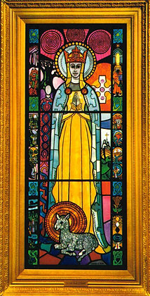OUR LADY OF KNOCK CANDLE