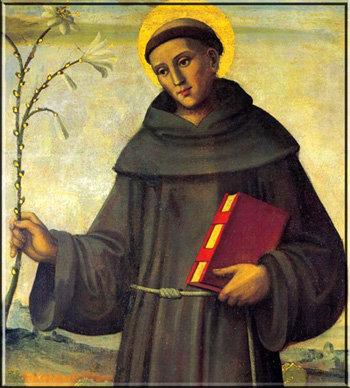 ST. ANTHONY OF PADUA CANDLE
