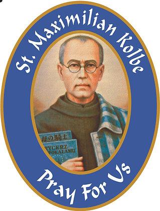 ST. MAXIMILIAN KOLBE CANDLE II