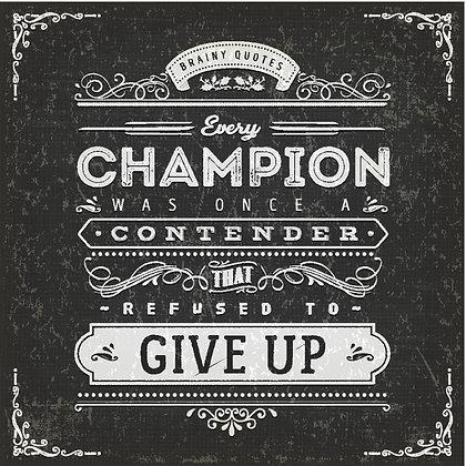 CHAMPION CANDLE