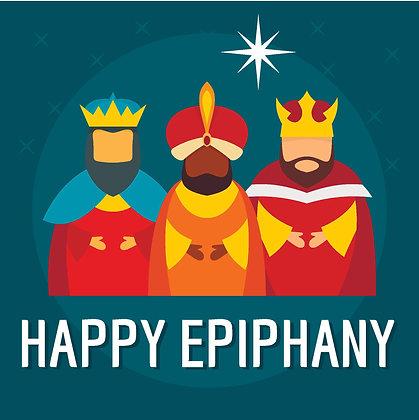 EPIPHANY CANDLE