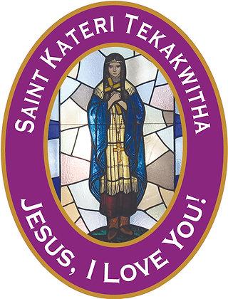 ST. KATERI TEKAKWITHA CANDLE I