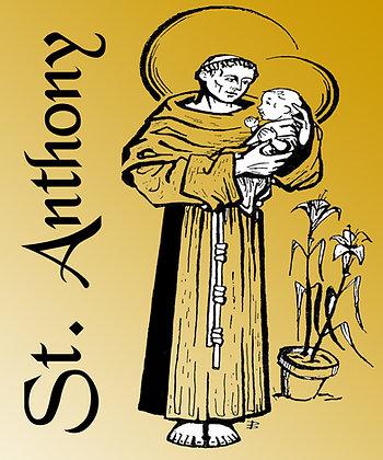 ST. ANTHONY CANDLE