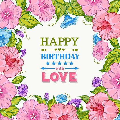 HAPPY BIRTHDAY II CANDLE