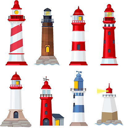 LIGHTHOUSES CANDLE