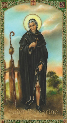ST. PEREGRINE CANDLE