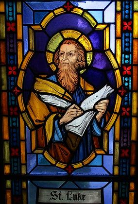 ST. LUKE CANDLE