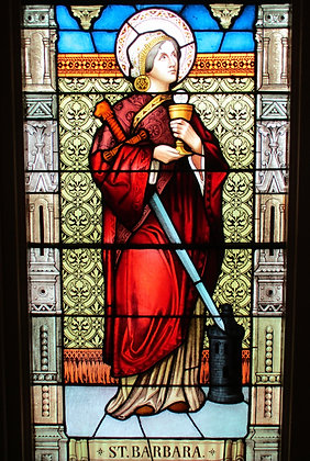 ST. BARBARA CANDLE