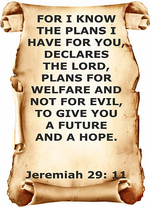 JEREMIAH 29 CANDLE