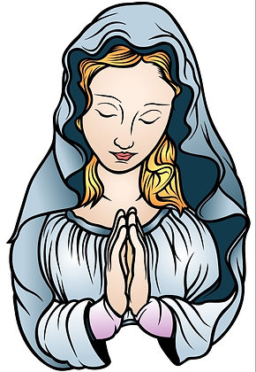 BLESSED VIRGIN MARY CANDLE