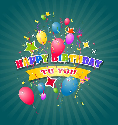 HAPPY BIRTHDAY CANDLE I