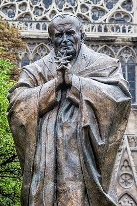 ST. POPE JOHN PAUL CANDLE