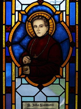 ST. JOHN NEUMANN CANDLE