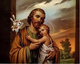 ST. JOSEPH CANDLE