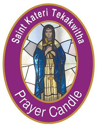ST. KATERI TEKAKWITHA CANDLE II