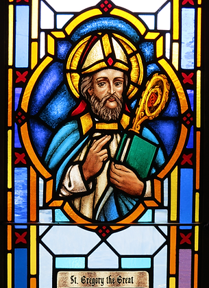 ST. GREGORY THE GREAT CANDLE