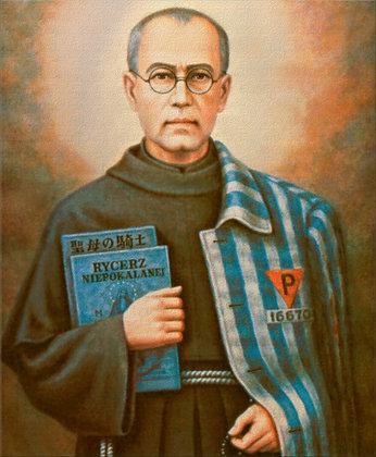 ST. MAXIMILIAN KOLBE CANDLE I