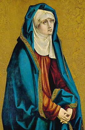 MOTHER OF SORROWS CANDLE