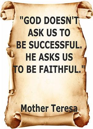MOTHER TERESA CANDLE II
