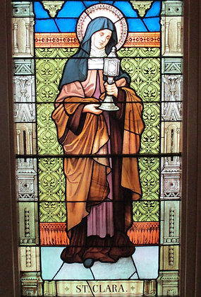 ST. CLARE CANDLE