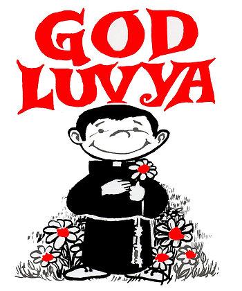 GOD LUVYA CANDLE