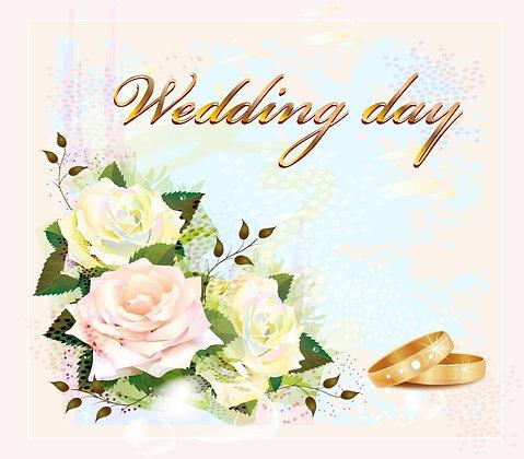 WEDDING II CANDLE