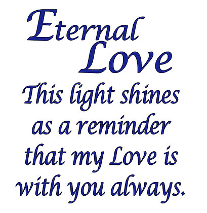 ETERNAL LOVE CANDLE
