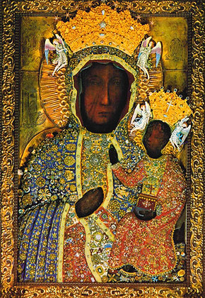 OUR LADY OF CZESTOCHOWA CANDLE