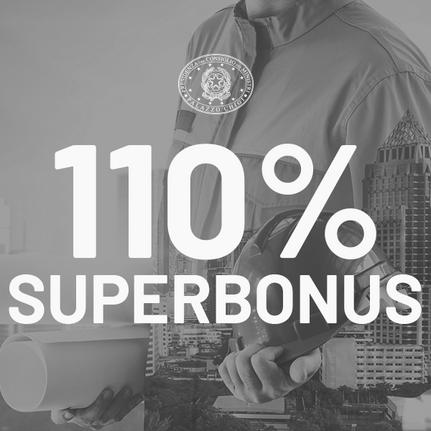 Superbonus 110% - Interventi agevolabili