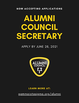 2021 Alumni Council Secretary Applicatio