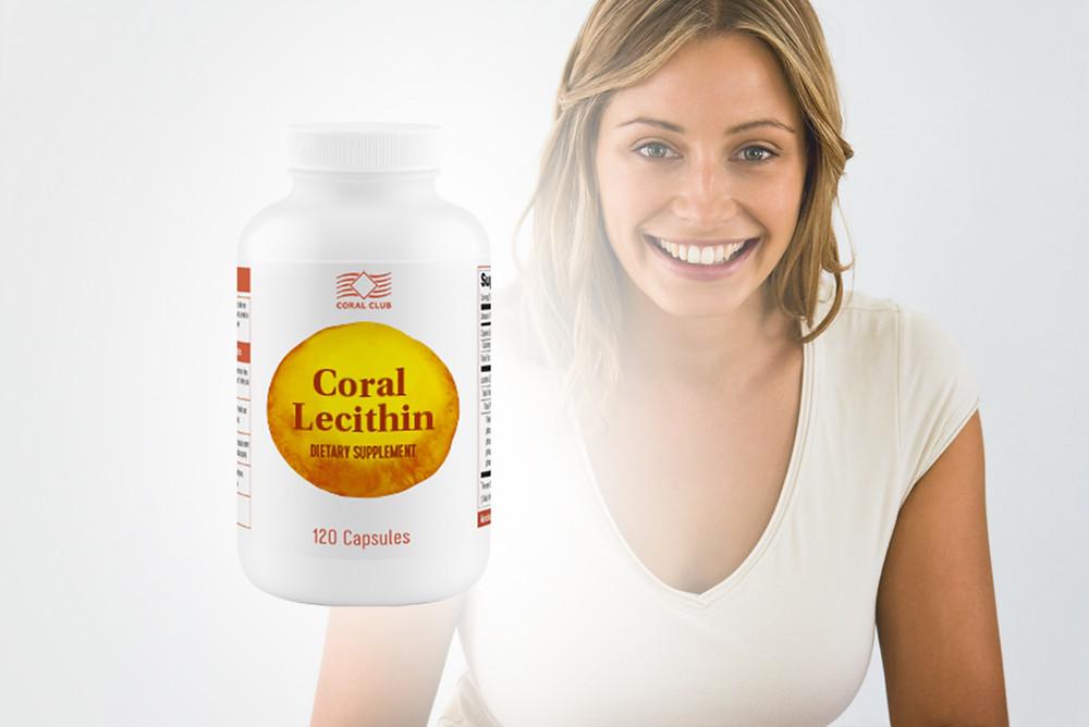 Coral Lecithin Lecitina