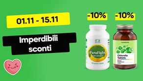 ⚡️Super Offerta: -10% su Chlorella e ParaFight