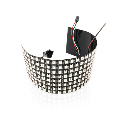 Modulo Led Dinamico Flessibile 5V 8x32 Pixel WS2812B