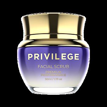Privilege - Скраб для лица с экстрактом и маслом кофе