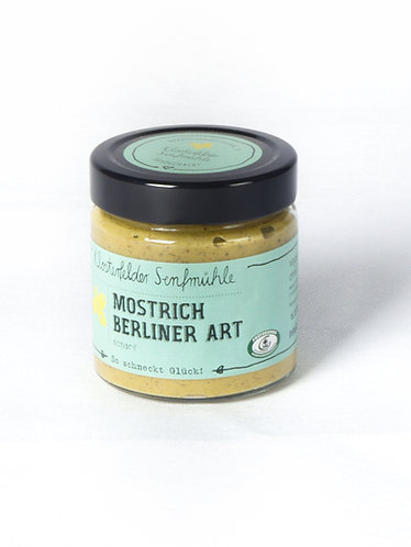 Mostrich - Berliner Art *VEGAN* (190 ml)