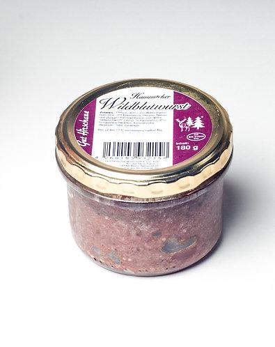 Wildblutwurst, Blutwurst, Gut Hirschaue, Wildfleisch, Wildschwein, Rietz Neuendorf, Feinschmecker, agrafrisch