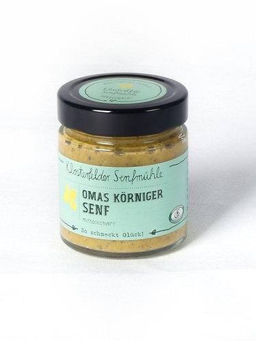 Omas Körniger Senf *VEGAN* (190 ml)